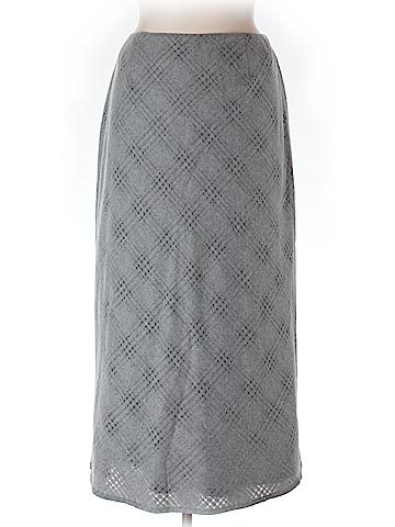 Oscar by Oscar De La Renta Wool Skirt Size 16W