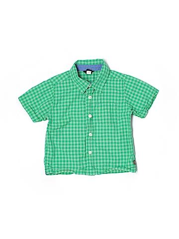 Baby Gap Short Sleeve Button-Down Shirt Size 2