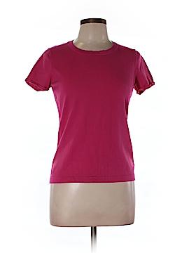 Jones New York Collection Short Sleeve Silk Top Size L (Petite)