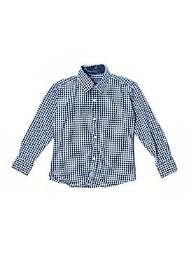 Ciamarco Long Sleeve Button-Down Shirt Size 6