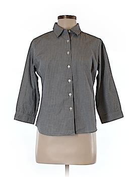 Genuine Sonoma Jean Company 3/4 Sleeve Button-Down Shirt Size M