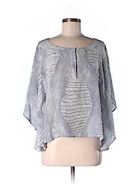 Hy & Dot 3/4 Sleeve Silk Top Size S