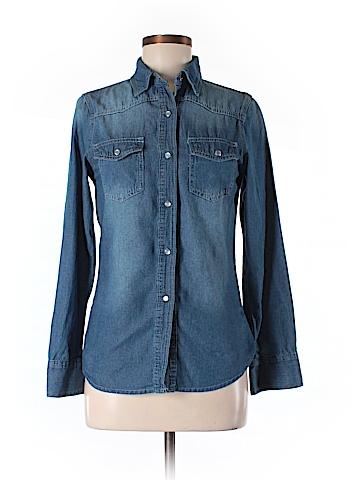 H&M Long Sleeve Button-Down Shirt Size M