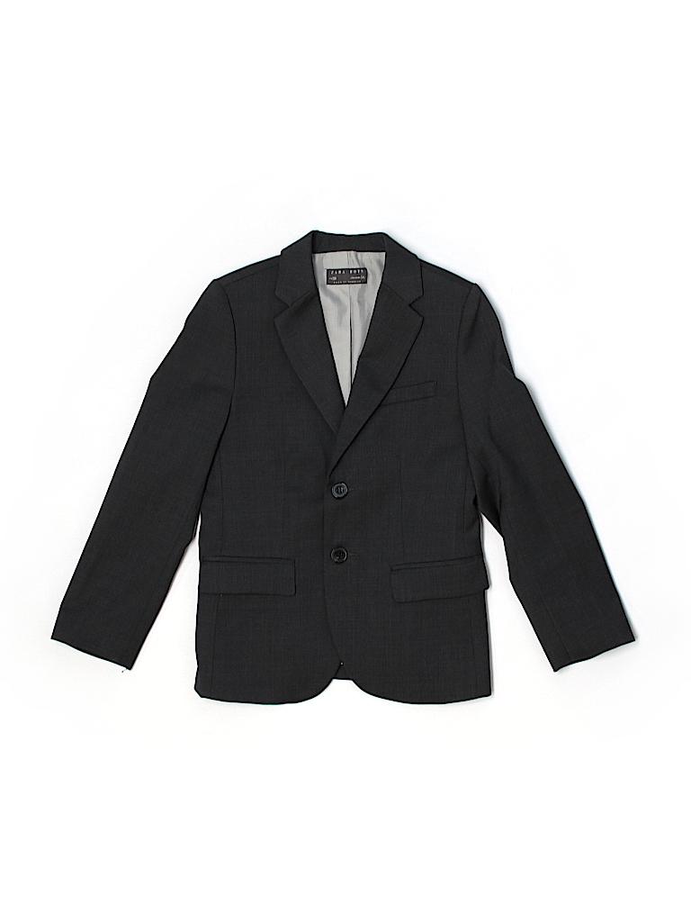 Zara Boys Wool Blazer Size 5 - 6