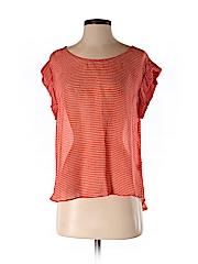 Rory Beca Women Short Sleeve Blouse Size XS