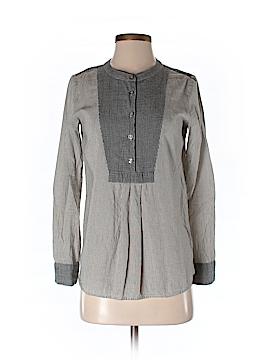 Eliot Long Sleeve Button-Down Shirt Size S