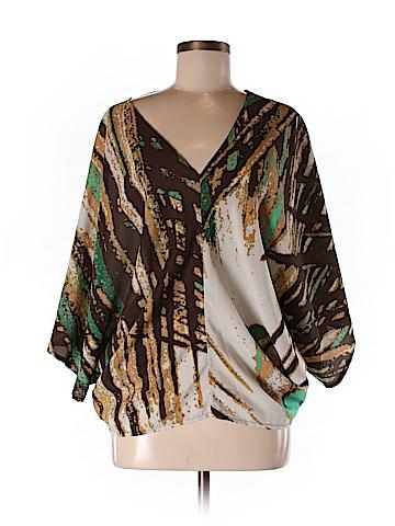 Ramona LaRue by Arianne Women 3/4 Sleeve Blouse Size M