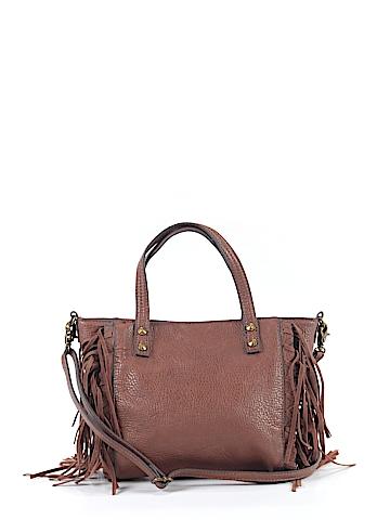 Jessica Simpson Leather Satchel One Size