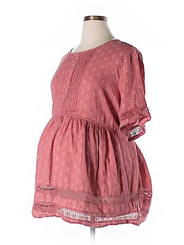 Old Navy - Maternity Short Sleeve Blouse Size XXL (Maternity)