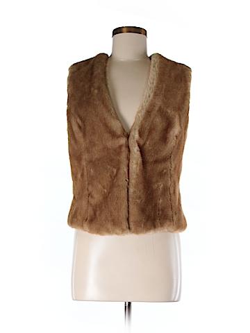 Stile Benetton Faux Fur Vest Size 44 (EU)