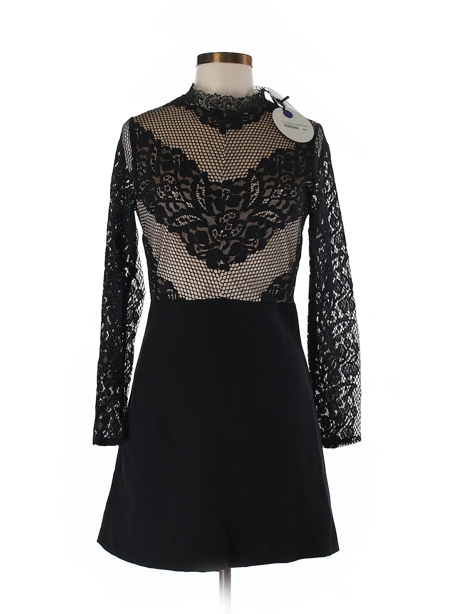 Dot Selling amp; Line Cocktail Dress rx80rPwqE
