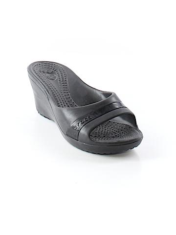 Crocs Wedges Size 8