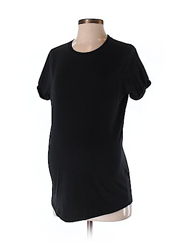 Topshop Maternity Short Sleeve T-Shirt Size 4 (Maternity)