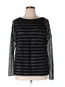 Garnet Hill Long Sleeve Top Size XL