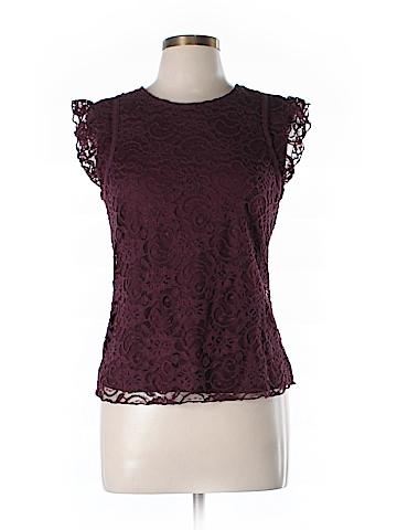Frenchi Short Sleeve Blouse Size L