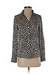 J. Crew Women Long Sleeve Silk Top Size 0