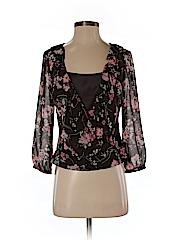 Ann Taylor LOFT Women Long Sleeve Blouse Size 0
