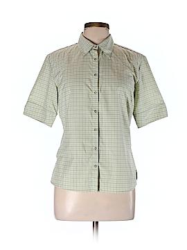 Mountain Hardwear Short Sleeve Button-Down Shirt Size 10