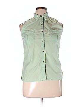 ExOfficio Sleeveless Button-Down Shirt Size M