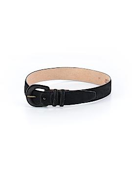Lands' End Leather Belt Size S