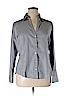 Ann Taylor Factory Women Long Sleeve Button-Down Shirt Size 14