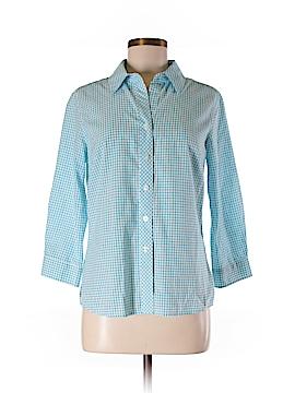 Pendleton 3/4 Sleeve Button-Down Shirt Size S