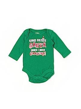 Holiday Time Long Sleeve Onesie Newborn