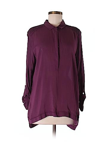 CALVIN KLEIN JEANS Women 3/4 Sleeve Blouse Size M