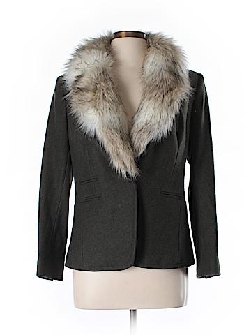Ann Taylor LOFT Wool Blazer Size 12 (Petite)