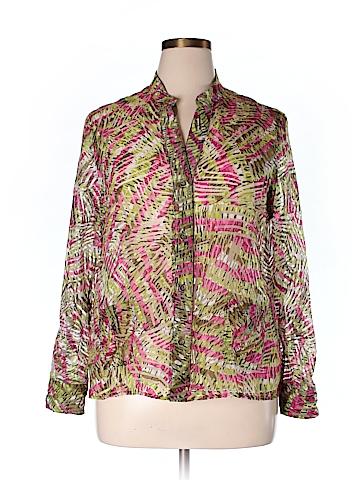 Lark Lane Long Sleeve Blouse Size 16