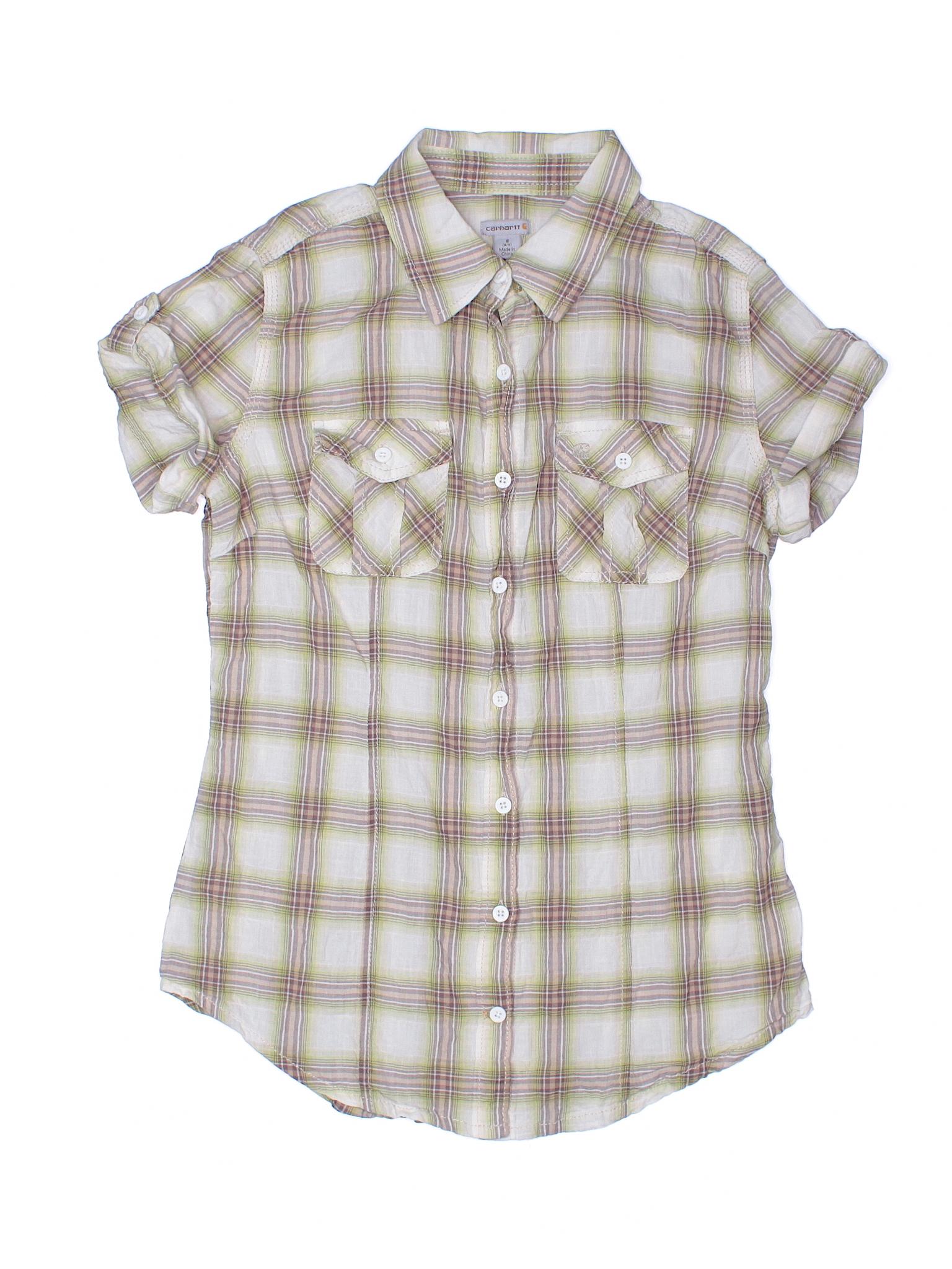 Carhartt Short Sleeve Button Down Shirt 65 Off Only On