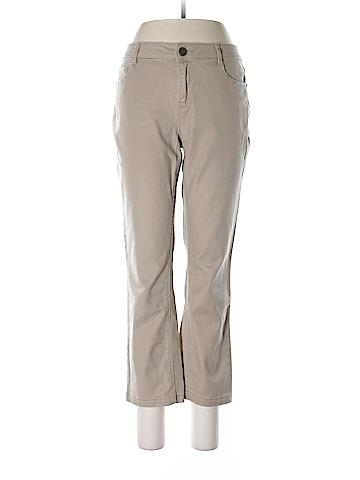 V-Star Black Khakis Size 8