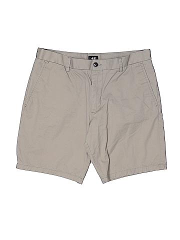 H&M Khaki Shorts 34 Waist