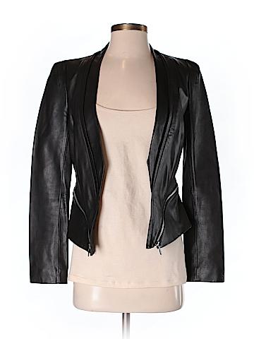 Rebecca Minkoff Women Leather Jacket Size 2