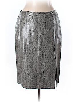 BCBGMAXAZRIA Faux Leather Skirt Size 12