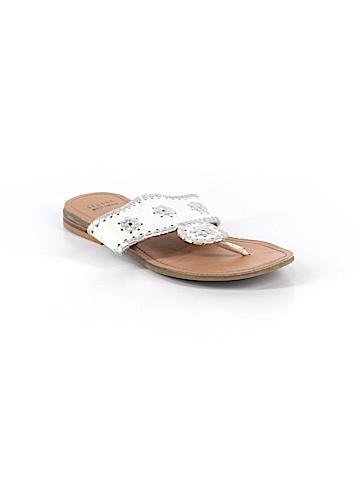 Stuart Weitzman Flip Flops Size 3