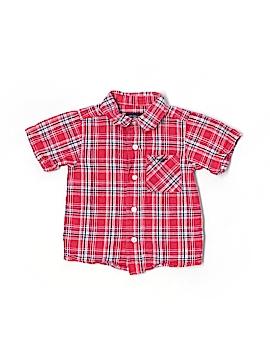 Dockers Short Sleeve Button-Down Shirt Size 18 mo