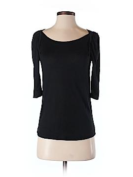 Hi-Line 3/4 Sleeve Silk Top Size XS