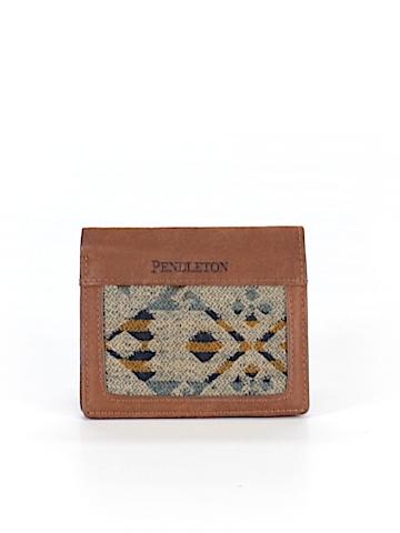 Pendleton Leather Wallet One Size