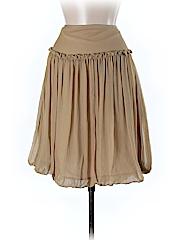 Lillie Rubin Women Silk Skirt Size 8