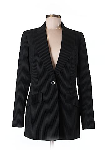 Dana Buchman Women Wool Blazer Size 6