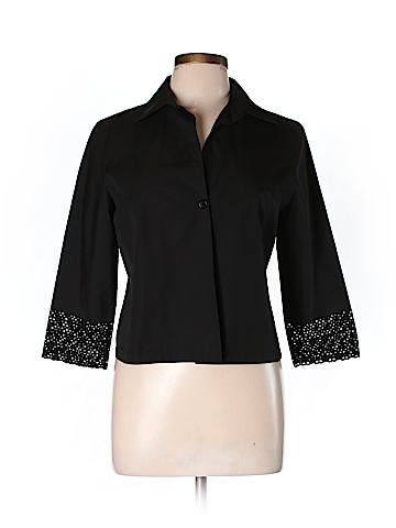 Akris punto 3/4 Sleeve Blouse Size 10