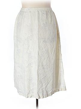 Valerie by Valerie Stevens Silk Skirt Size 20W (Plus)