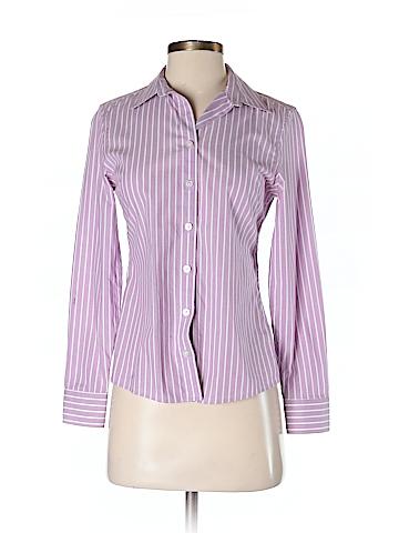 Banana Republic Long Sleeve Button-Down Shirt Size 0 (Petite)