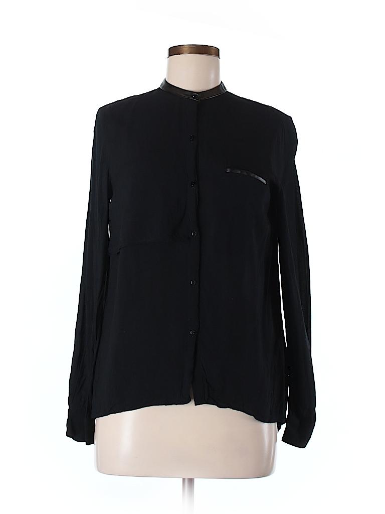 zara long sleeve button down shirt 66 off only on thredup