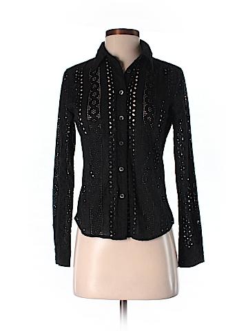 Club Monaco Long Sleeve Button-Down Shirt Size S