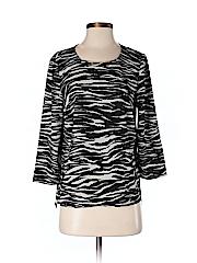 DKNYC Women 3/4 Sleeve Blouse Size S