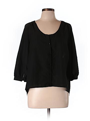 Sparkle & Fade Women 3/4 Sleeve Blouse Size L
