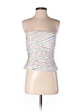 Kay Unger Sleeveless Silk Top Size 6
