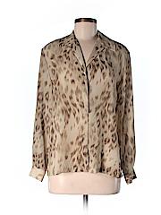Josephine Chaus Women Long Sleeve Blouse Size 4